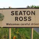 Seaton Ross sign