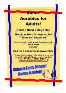 Dance Aerobics classes