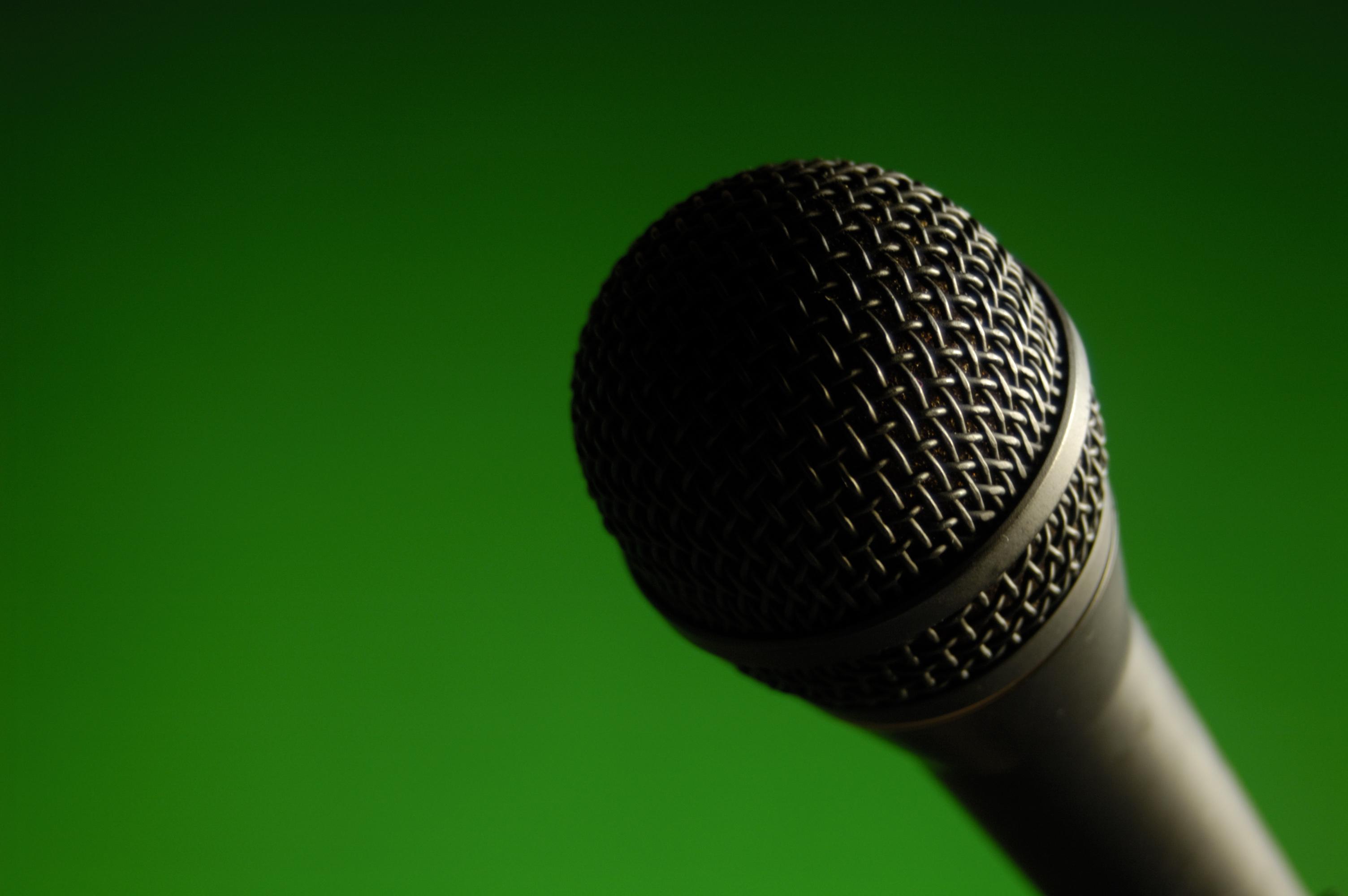 Microphone. Picture: monosodium/morguefile