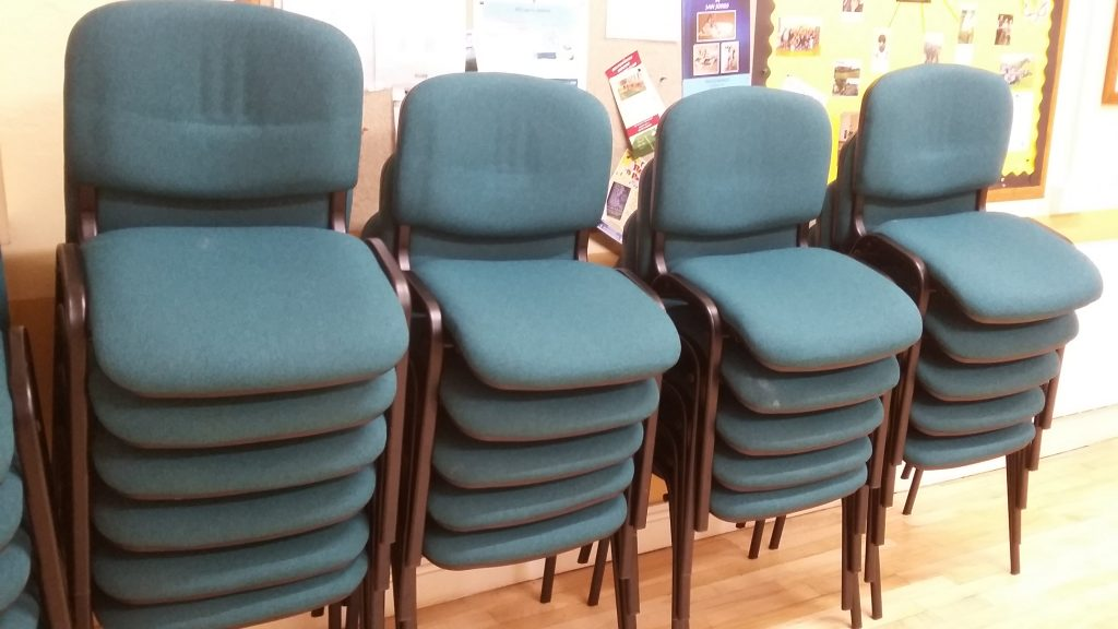 Village Hall 'Sponsor a chair' appeal - winners