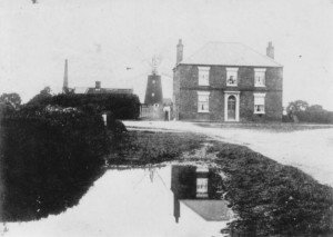Old mills and village pond, North End